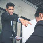 An abusive boss