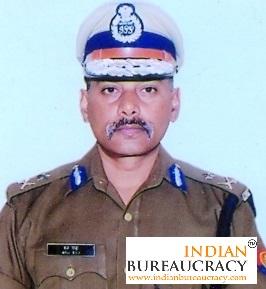 Brij Raj Meena IPS