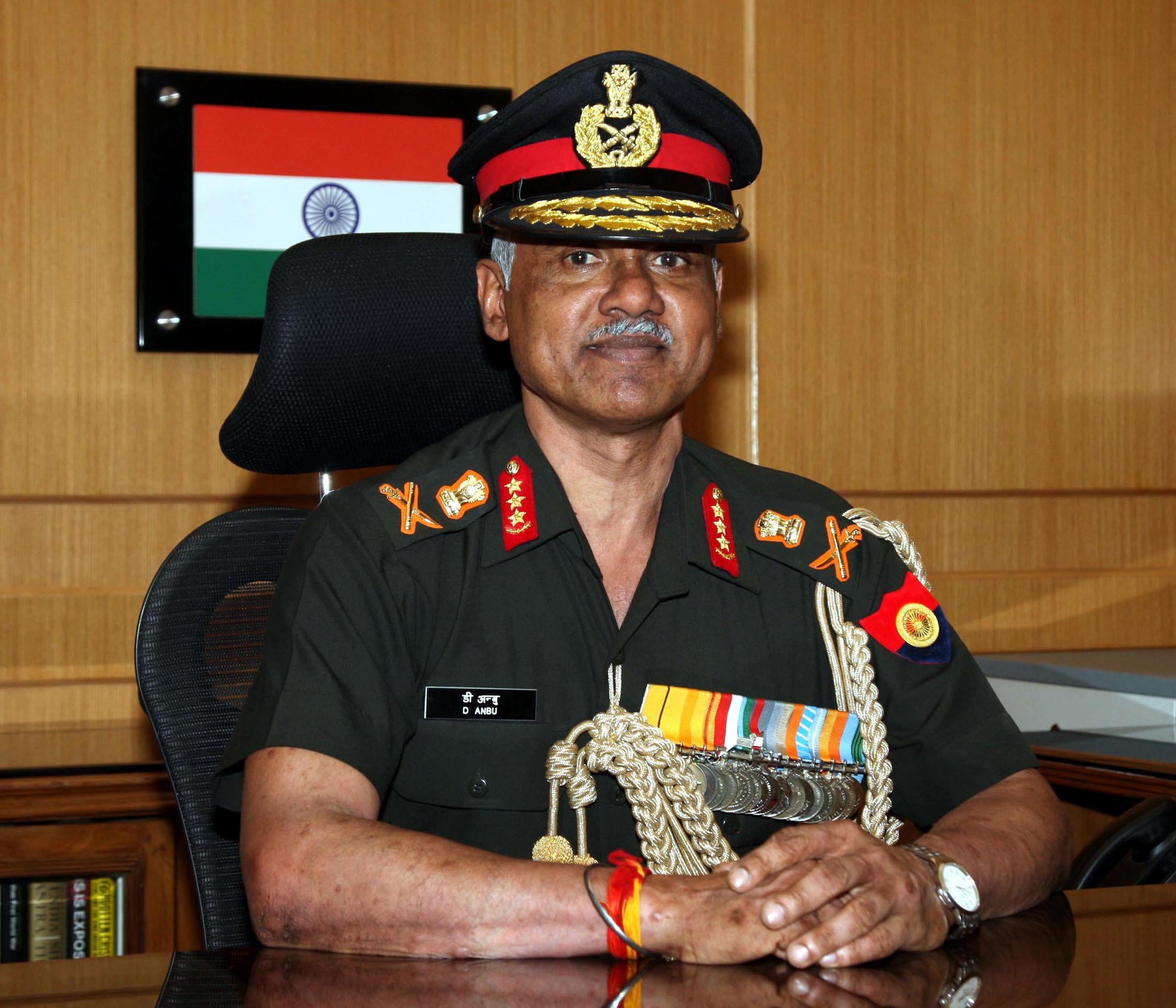 Lt General Devraj Anbu