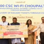 Piyush Goyal launching 5000 CSC WiFi Choupal