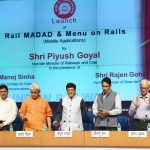Piyush Goyal launches Rail Madad App