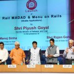 Railways Minister launched a new App Menu on Rails