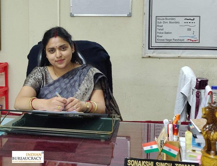 Sonakshi Singh Tomar IAS TR