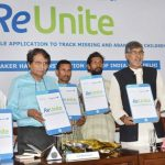 Suresh Prabhu launches Mobile App 'ReUnite