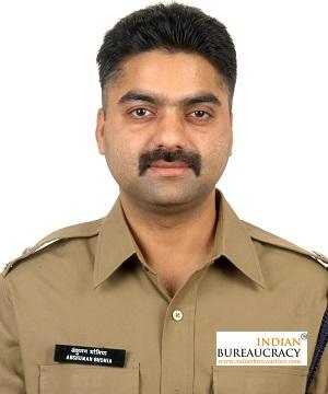 Anshuman Bhomia IPS