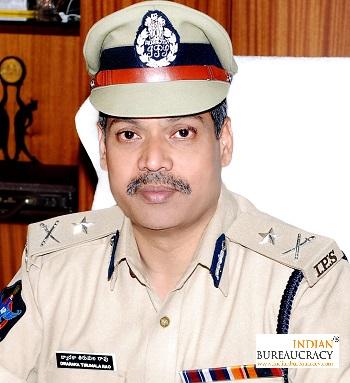 D Tirumala Rao IPS