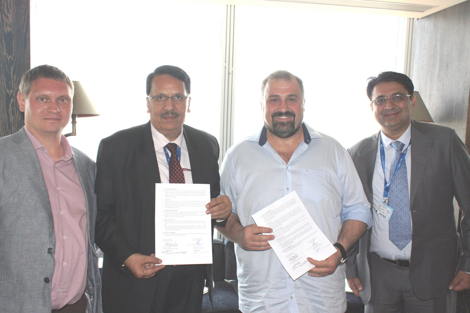 Pawan Hans MoU with UTair
