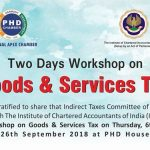 Workshop on Goods & Services Tax