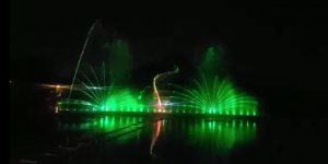 First Water Screen Projection Sound & Light Show at Tilyar lake, Rohtak by ITDC