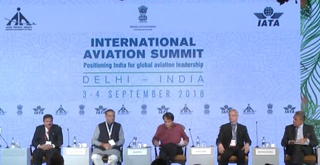 The International Aviation Summit held in New Delhi