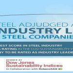 Tata Steel adjudged as Steel Industry Leader in DJSI