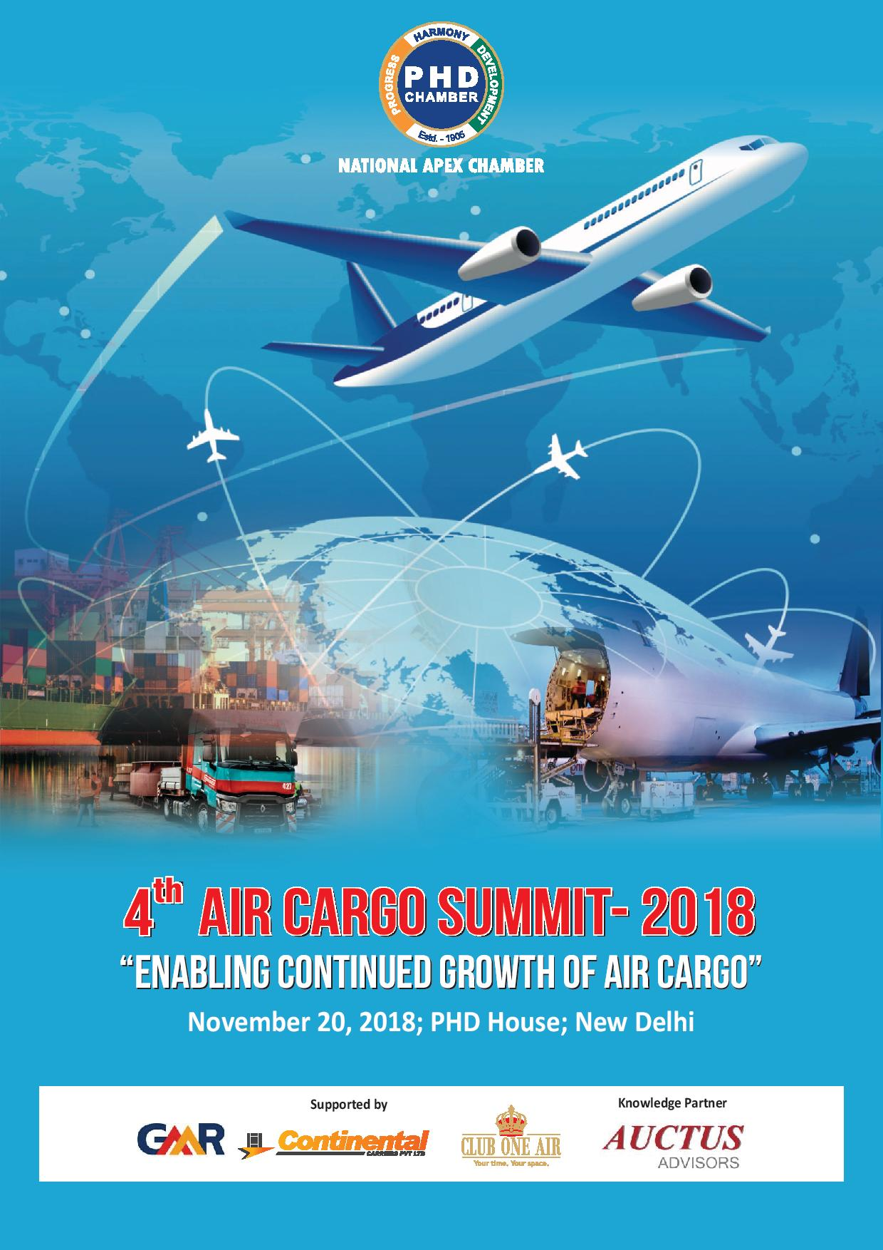 4th PHD Air Cargo Summit 2018