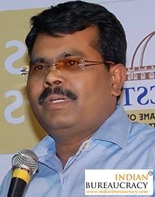 Balaji D Manjule IAS