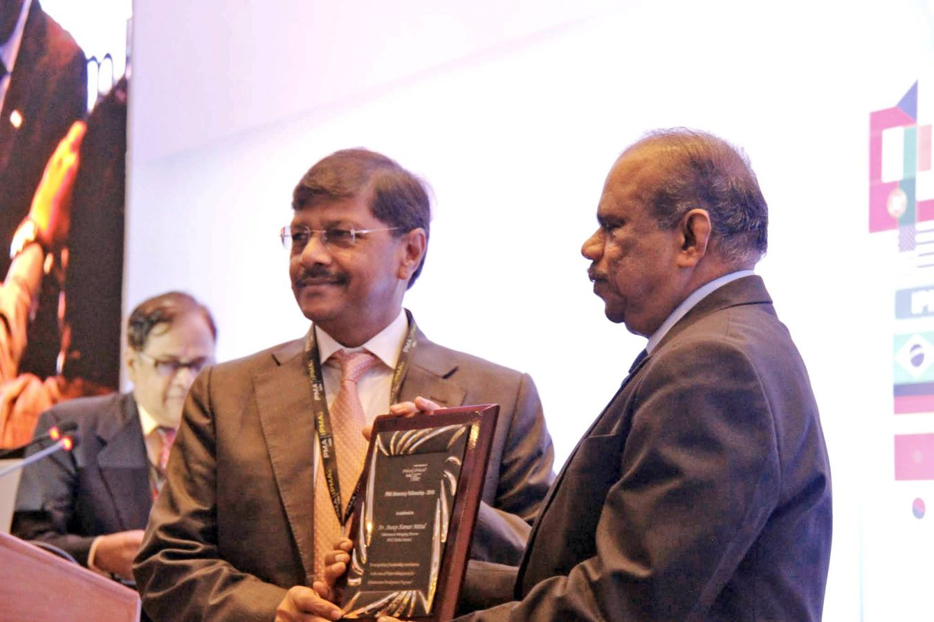 CMD, NBCC honoured with PMA Fellowship