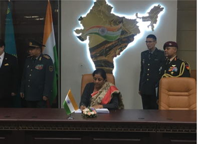 India and Kazakhstan agree to boost Defence & Military