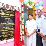 Sports Development Training Hall provided by NLC under CSR