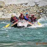Cockerel Gunners' White Water Rafting