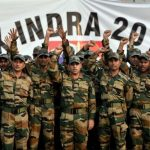 INDO-Russian joint exercise INDRA 2018