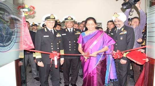 Raksha Mantri Inaugurates IFC-IOR