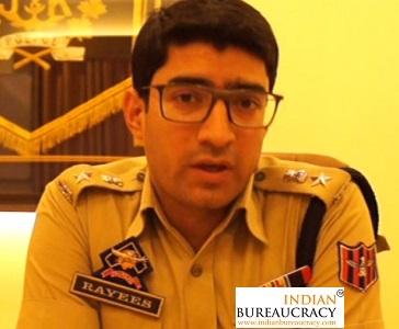 Rayees Mohammad Bhat IPS