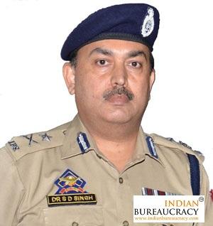 S D Singh IPS