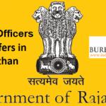 5 RAS Officer transfers