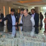 Governor, Delhi visits NBCC East Kidwai Nagar Project