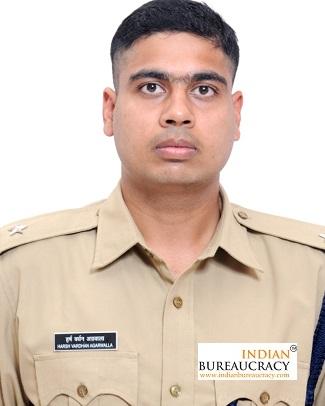 Harsh Vardhan Agarwalla IPS Rajasthan