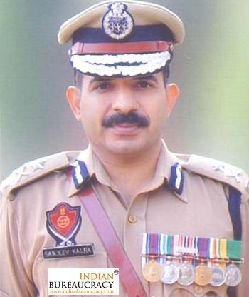 Sanjiv Kumar Kalra IPS Punjab