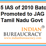 15 IAS Officers of Tamil Nadu