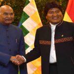 India & Bolivia sign 8 MoUs
