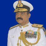 Vice Admiral MA Hampiholi