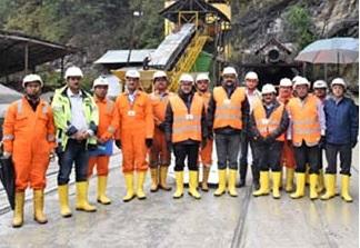 A K Bhalla IAS visits Parbati-II Project