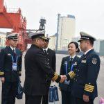 IN Ships Kolkata and Shakti in China