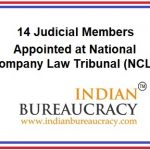 14 Judicial Members at National Company Law Tribunal ( NCLT)