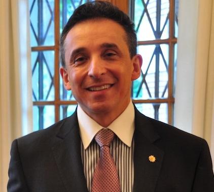 Alvaro Sandoval Bernal, Ambassador of Colombia