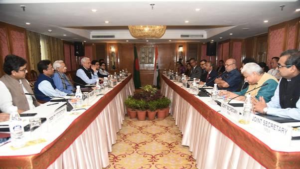 Bangladesh Delegation meets I&B Ministry