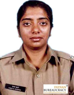 Chaya Sharma IPS