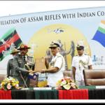 ICG ship Shaurya with 3rd(Naga Hills) battalion of Assam Rifles