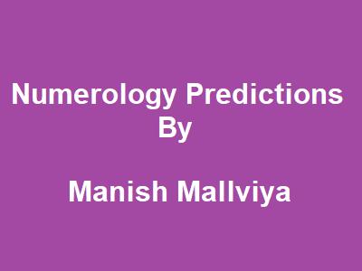 Manish Mallviya ,Predictions Celebrities Numerologist,Tarot Reader