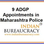 Nine ADGP Appointments in Maharashtra Police