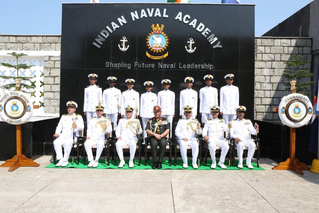 Parade of Spring Term 2019, Indian Naval Academy, Ezhimala