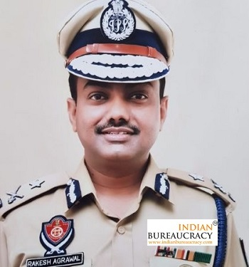 Rakesh Agrawal IPS Punjab
