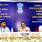 Union Home Secretary Shri Rajiv Gauba calls on States for better preparedness ahead of the South West Monsoon