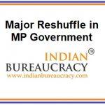14 IAS transferred in MP Govt