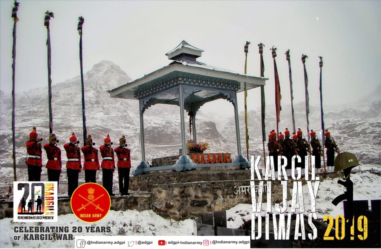 20TH Anniversary of The Victory at Kargil