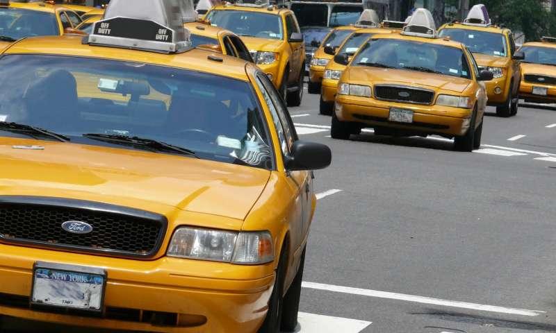 Clean air taxis cut pollution in New York City