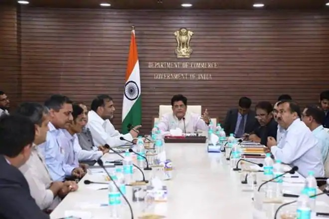 Commerce Minister Holds Meeting With E-Commerce and Tech Companies