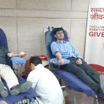 REC Organizes Blood Donation Drive