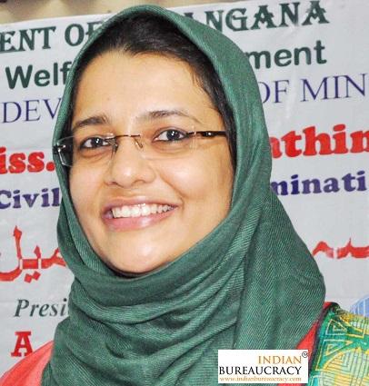 Jameel Fathima Zeba IAS